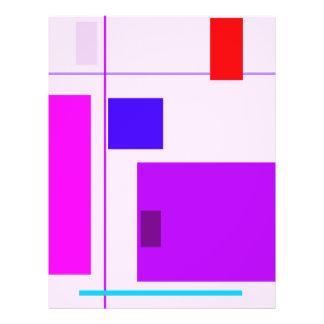Cardo linear da beleza modelo de panfletos