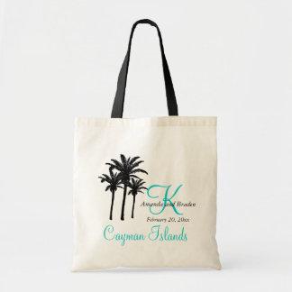 Caribe das sacolas do casamento do destino bolsa para compra