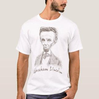caricatura Abraham Lincoln Camiseta