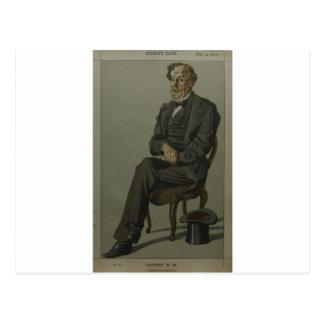 Caricatura de Alexander Baillie Cochrane M.P. Cartão Postal