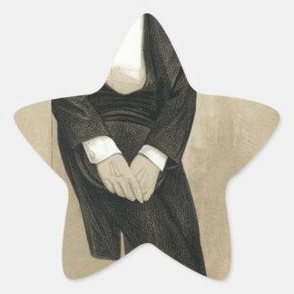 Caricatura de Frederic Leighton por James Tissot Adesito Estrela