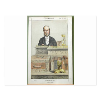 Caricatura de John George Dodson M.P. James Tissot Cartão Postal