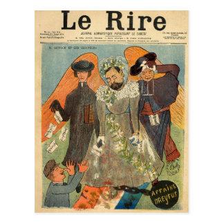 Caricatura de Joseph Reinach Cartão Postal