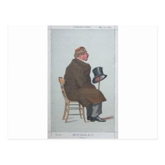 Caricatura de Percy William Doyle C.B. por James Cartão Postal