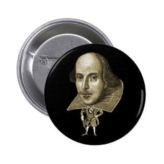 Caricatura de Shakespeare Boton