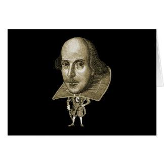 Caricatura de Shakespeare Cartões