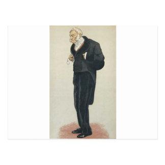 Caricatura de William Bathurst, 5o conde Bathurst Cartão Postal