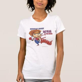 caricatura do cruzeiro do aniversário de williams camisetas