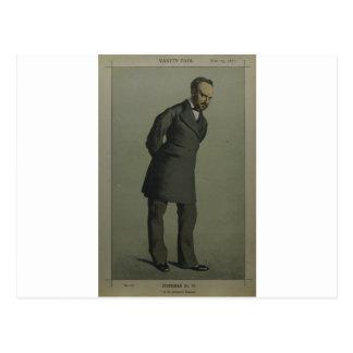Caricatura do senhor Charles Wentworth Dilke Cartão Postal