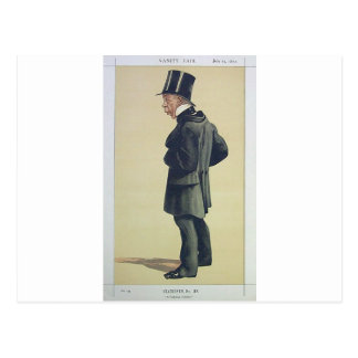 Caricatura do Sr. George Leeman M.P. James Tissot Cartão Postal