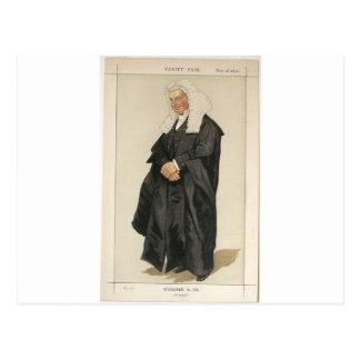 Caricatura dos homens políticos No.1290 do Rt Hon Cartão Postal