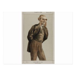 Caricatura dos homens políticos No.1300 do Sr. Cartão Postal