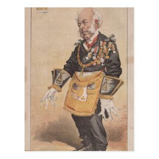 Caricatura dos homens políticos No.370 de Thomas Cartão Postal