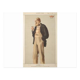Caricatura dos homens políticos No.930 do duque de Cartão Postal