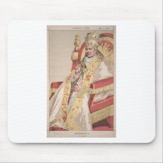 Caricatura dos soberanos No.60 do papa Pius IX Mouse Pad