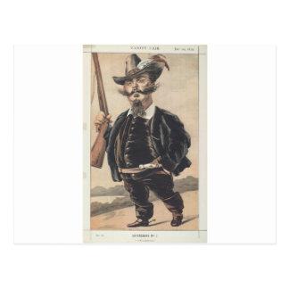 Caricatura dos soberanos No.70 do vencedor Cartão Postal