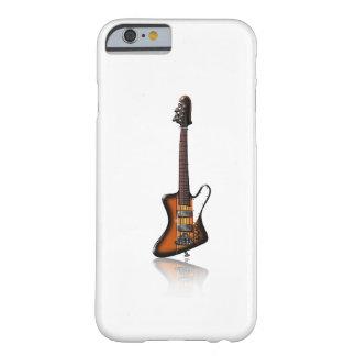 Caricatura elétrica da guitarra baixa de capa iPhone 6 barely there