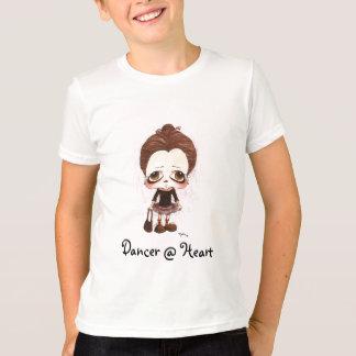 Caricatura nova do dançarino tshirt