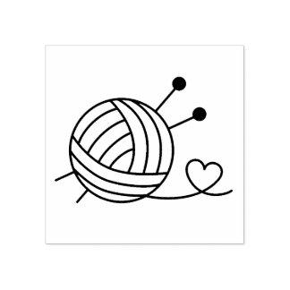 Carimbo De Borracha Bola do artesanato do fio para confecção de malhas