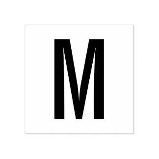 Carimbo De Borracha Monograma moderno simples