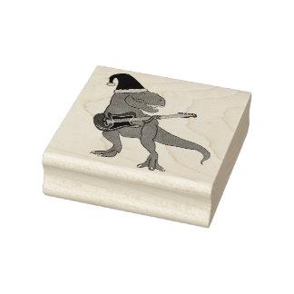 Carimbo De Borracha Natal da guitarra de T-Rex