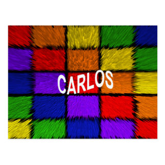 CARLOS CARTÃO POSTAL