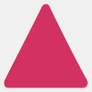 Carmesins Adesivos Em Forma De Triângulo