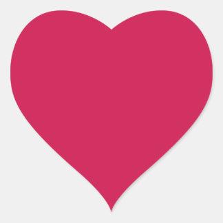 Carmesins Adesivo Em Forma De Coração