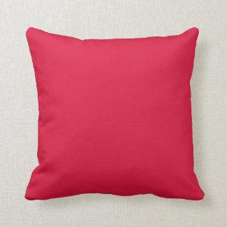 carmesins da cor travesseiro