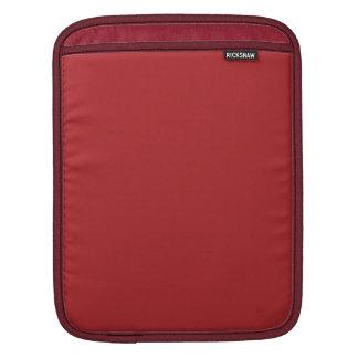 Carmesins de alizarina bolsas para iPad