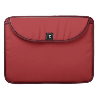 Carmesins de alizarina bolsas para MacBook