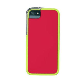 Carmesins Capa Para iPhone 5S