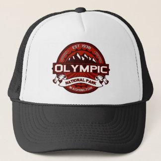 Carmesins olímpicos boné