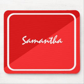 Carmesins personalizados & escarlate de Mousepad