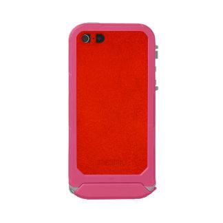 Carmesins Textured Capa Incipio ATLAS ID™ Para iPhone 5