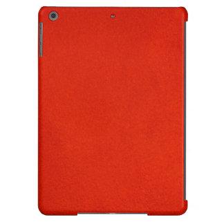 Carmesins Textured Capa Para iPad Air