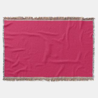 Carmesins Throw Blanket