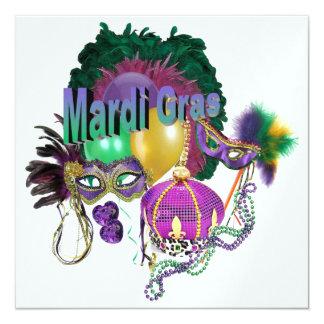 Carnaval Convite Personalizado