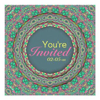 Carnaval de sorriso - verde - convites personalizados