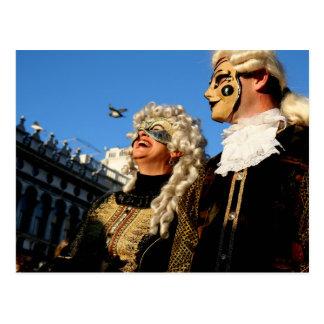 Carnaval de Veneza Cartões Postais