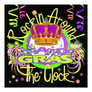 Carnaval - Rockin em torno do convite do pulso de