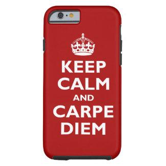 Carpe Diem! Capa Para iPhone 6 Tough