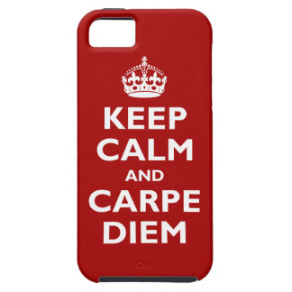 Carpe Diem! iPhone 5 Capa
