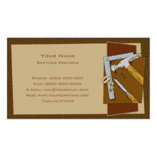 Carpinteiro Cartões De Visita