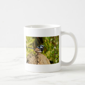 Carriça azul caneca de café