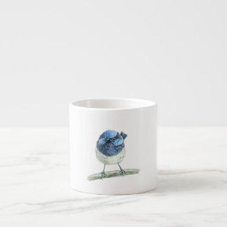 Carriça feericamente xícara de espresso