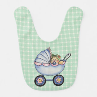 Carrinho de bebê - babador do bebê