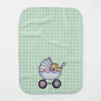 Carrinho de bebê - pano do Burp Paninho Para Bebês