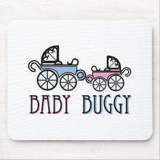 Carrinho de bebê mouse pads
