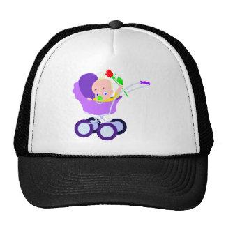 Carrinho de criança de bebê boné